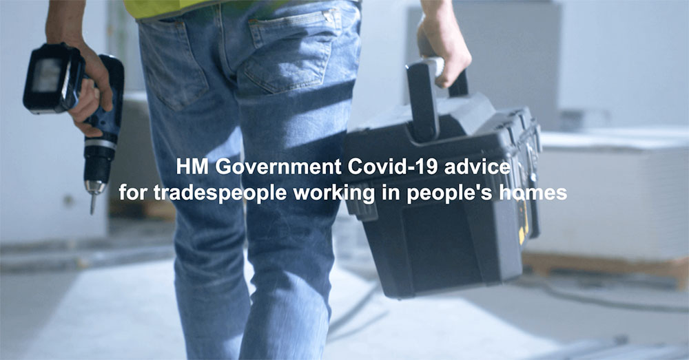 New COVID-19 guidance for homeowners & tradespeople