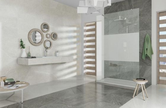 Brooklyn Lux Ice Glazed Porcelain Tile 600 x 600mm