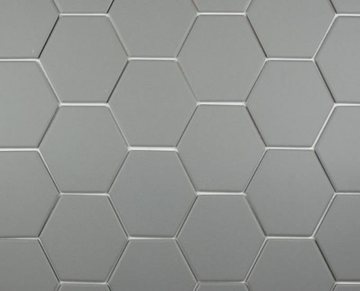 Iron Grey Hexagonal 100x115