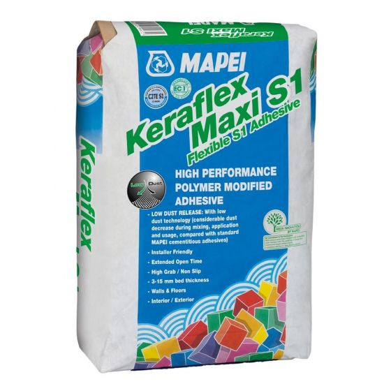 Mapei Keraflex White Flexible Wall & Floor Adhesive 20kg