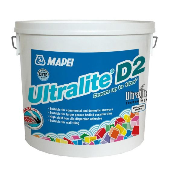 Mapei Ultralite D2 Wall Tile Adhesive 12.5kg