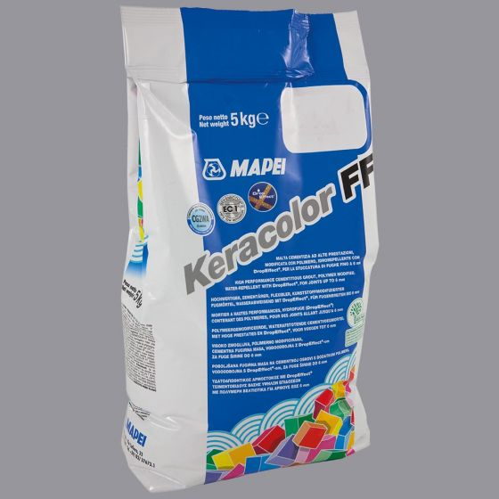 Keracolour FF Cement Grey (113) Wall & Floor Grout 5kg