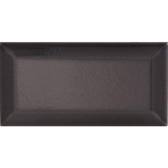 Victoria Baths Crackle Bevel Smoke Grey