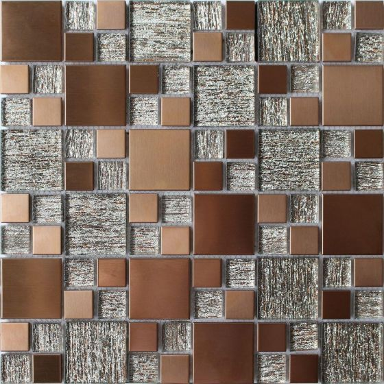 Copper Luxe Mosaic