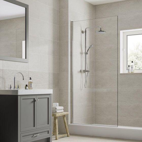 Horizon Light Grey Floor Tile 600x600