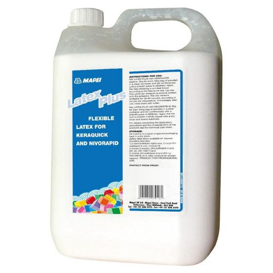 Mapei Latex Plus 6kg Additive For Use With Keraquick