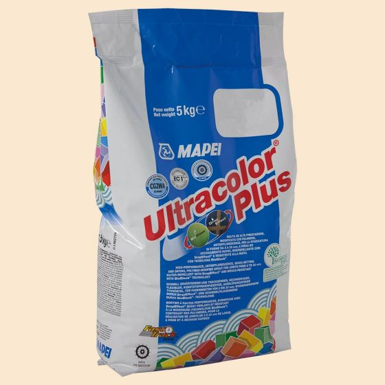 Ultracolour Plus Vanilla (131) Flexible Wall & Floor Grout 5Kg