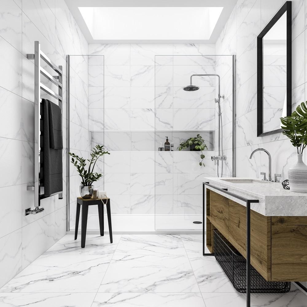 Mont Blanc Marble Effect 300 X 600 Tile Giant