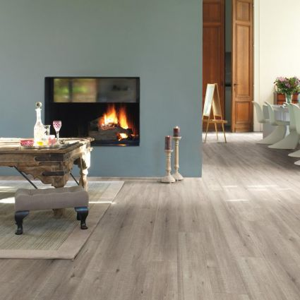 Impressive Sawcut Oak Effect Grey