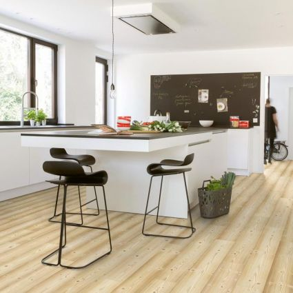 Impressive Natural Pine Effect Planks