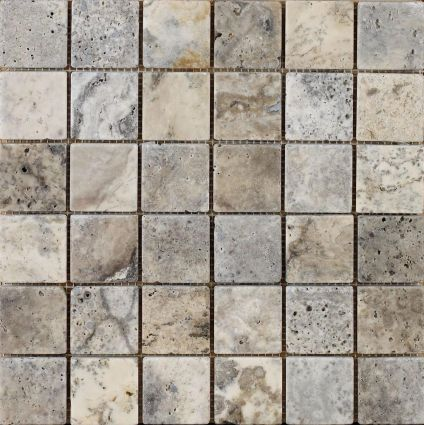 Italiana Grey Mosaic 48x48mm