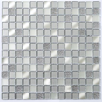 Platinum Silver Mirror 20x20mm