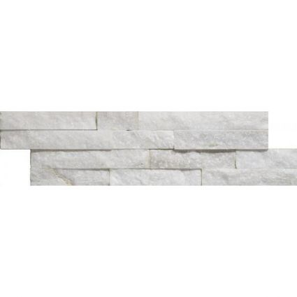 Carrara Slate Split Face Mosaic 100x360