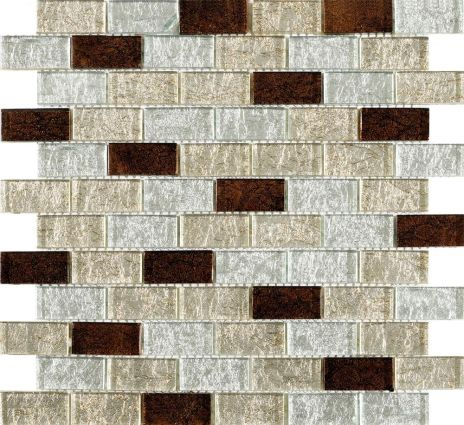 Metalikos Brown Foil Mosaic