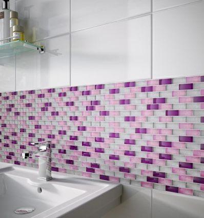 Metalikos Pink Foil Mosaic