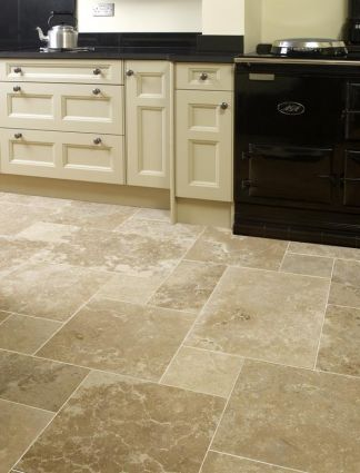 Classic Kremna Honed & Filled Travertine Opus Pack (0.74 sqm)