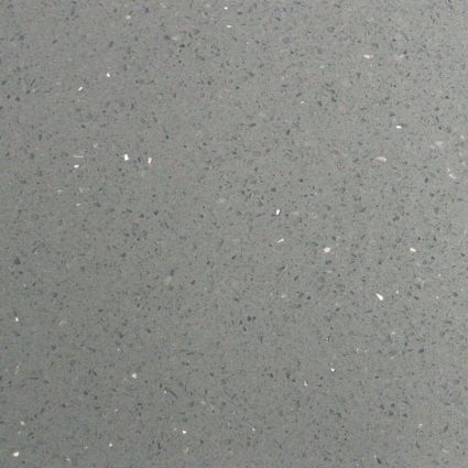 Mirror Grey Quartz Tile 600x600