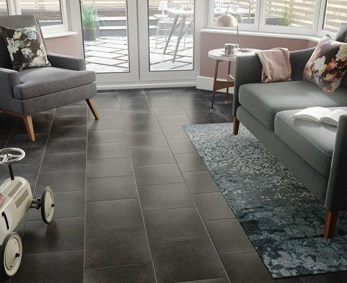 Eternity Nero Floor Tile