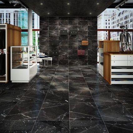I-Pietra Riviera Black Matt 600x600
