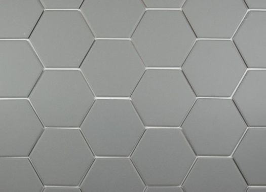 Iron Grey Hexagonal 100x115