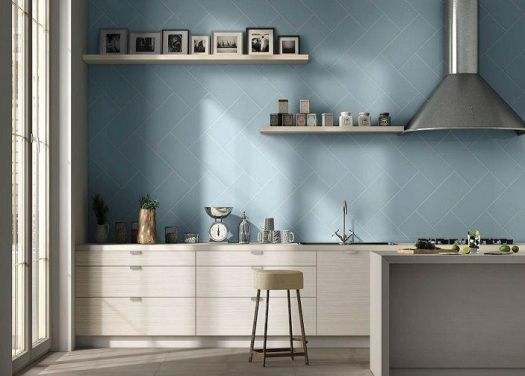 Colonial Blue (Turchese) 200x457