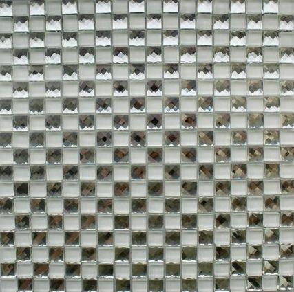 Crystal White Mosaic 300x300