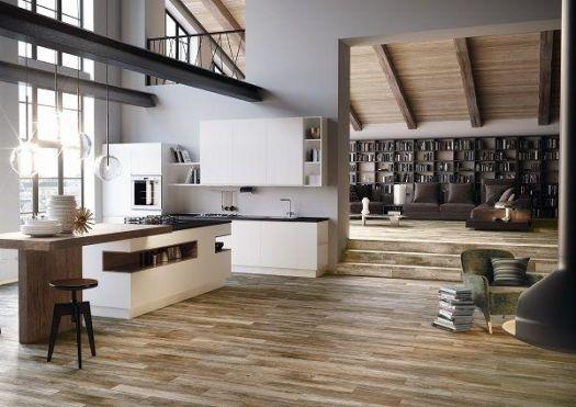 Silva Maple Wood Effect 165x1000