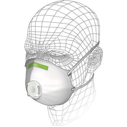 Vitrex Moulded Premium Multi-Purpose Respirator P3 (3 Pack)