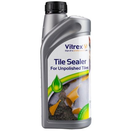 Vitrex Tile Sealer for Unpolished Tiles 1 Litre