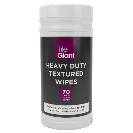 Tile Giant Heavy Duty Textured Wipes 70 Sheets