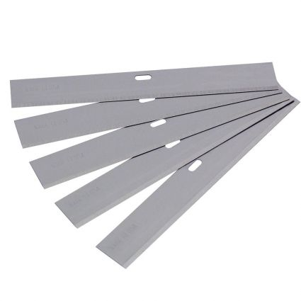 Vitrex Replacement Scraper Blades 100mm (5 Pack)