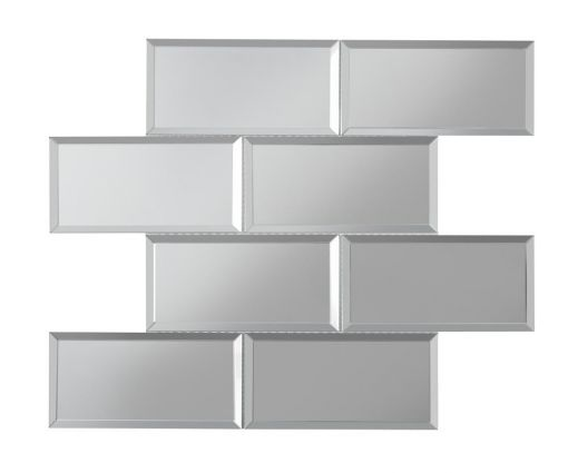 Luminere Bevel Mirror Brick Mosaics