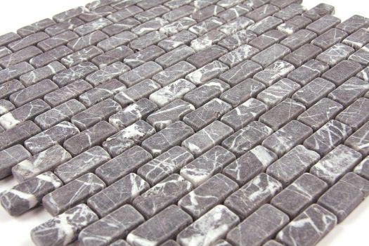 Grey Brick Marble Mosaic