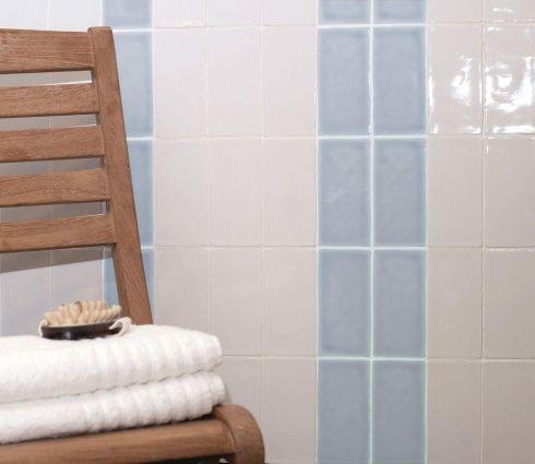 Somerset Sky Blue Gloss 75x150