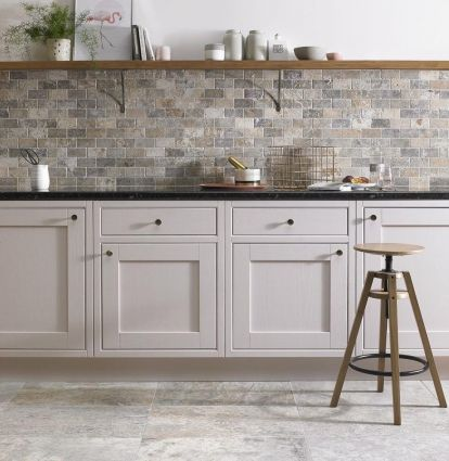 Italiana Grey Brick Mosaic 48x98mm