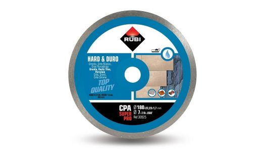 "Rubi CPA 180 (7"") SuperPro Diamond Blade"