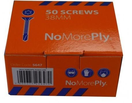38mm Torx Screws Pack of 50