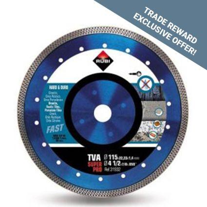 Rubi TVA 115 SuperPro Diamond Blade