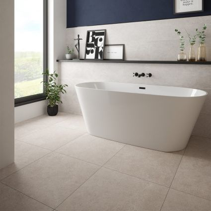 Wilmslow White Wall 333x900