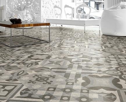 Art Noveau Floor Tile