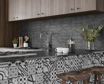 Cementum Kitchen Wall Tile