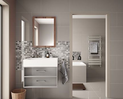 Cordova Porcelain Bathroom Tile