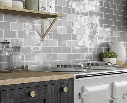 Cottage Kitchen Wall Tile