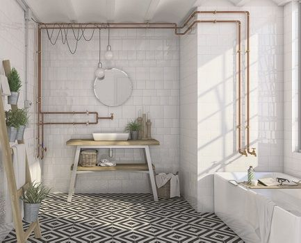 Etnia Bathroom Wall Tile