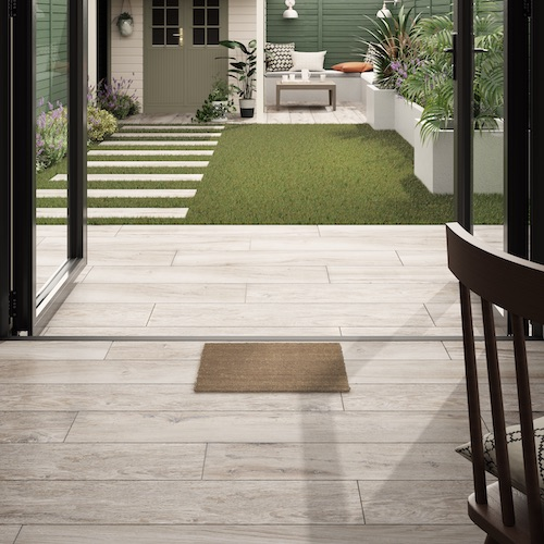 Flow tiles from Homes & Gardens collection at Tile Giant