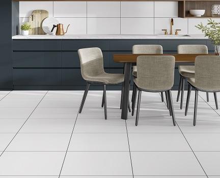 Marginal Dove White Floor Tile