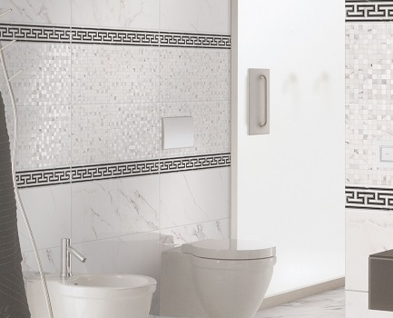 Marmo Borghini Marble Effect Bathroom Wall Tile