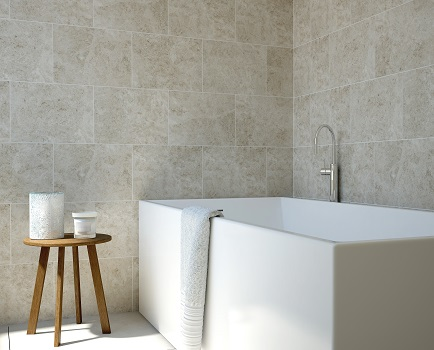 Messina Marble Effect Bathroom Wall Tile