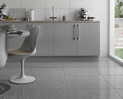 Mirror Quartz Floor Tile