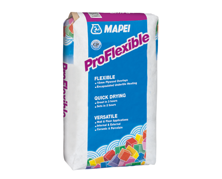 Adhesives and grout